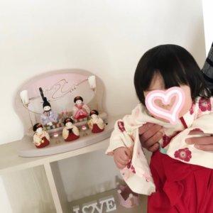 ふらここ雛人形ひなまつり衣装