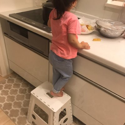 ニトリの子供のおしゃれな踏み台04